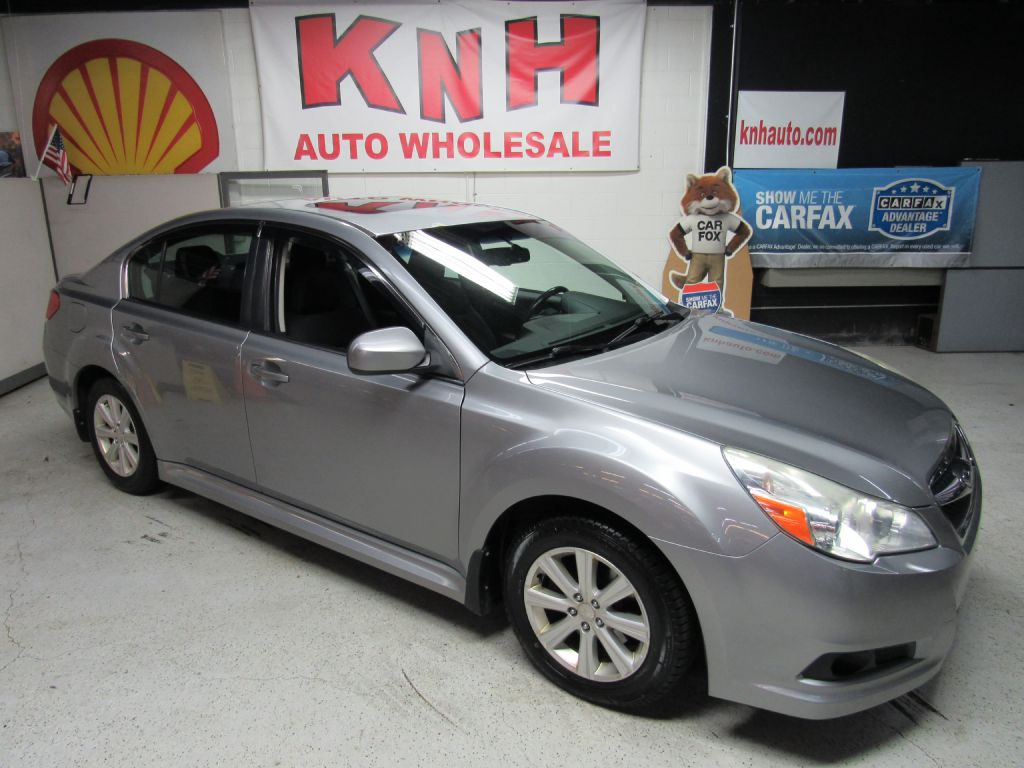 2011 SUBARU LEGACY 2.5I PREMIUM for sale at KNH Auto Sales