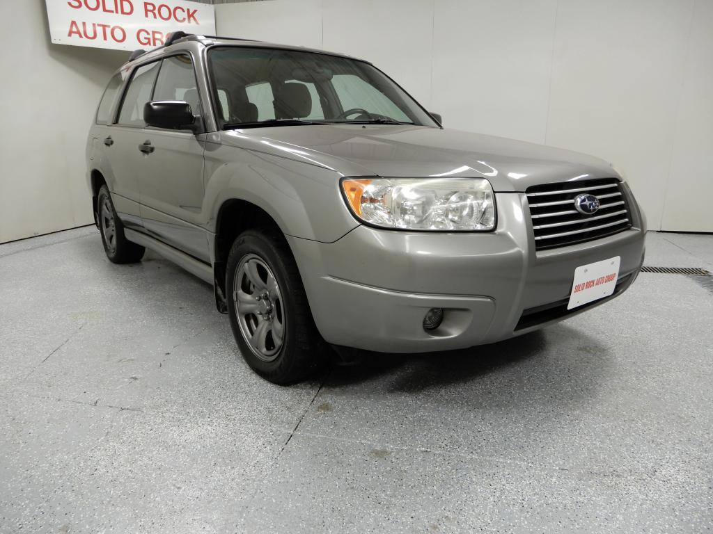 2006 SUBARU FORESTER for sale at Solid Rock Auto Group