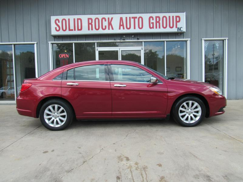 2013 CHRYSLER 200 LIMITED for sale at Solid Rock Auto Group