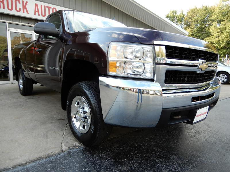 2009 CHEVROLET SILVERADO 2500  HEAVY DUTY 4X4 for sale in Garrettsville, Ohio