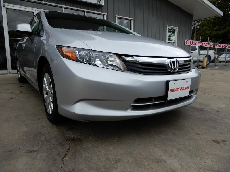 2012 HONDA CIVIC for sale at Solid Rock Auto Group