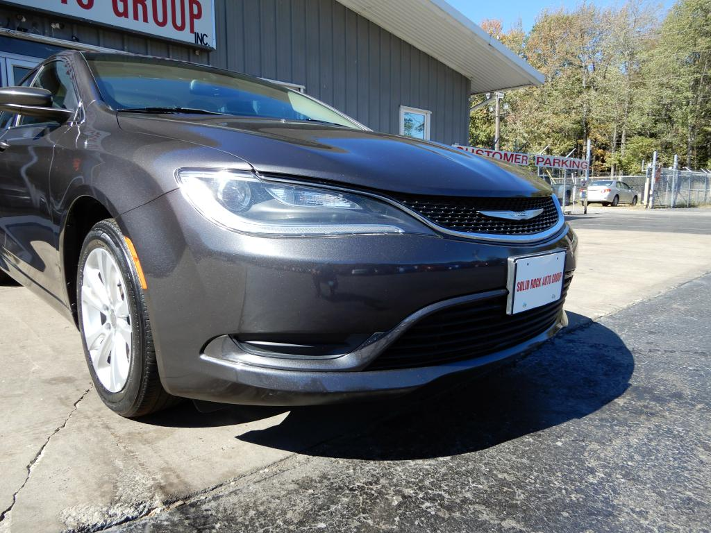 2015 CHRYSLER 200 for sale at Solid Rock Auto Group