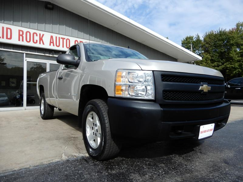 2008 CHEVROLET SILVERADO 1500 REG 4X4 LONG BED for sale at Solid Rock Auto Group
