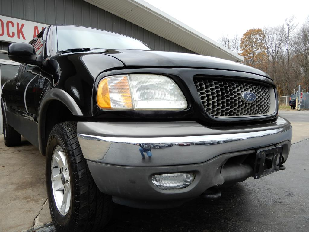 2003 FORD F150 for sale at Solid Rock Auto Group