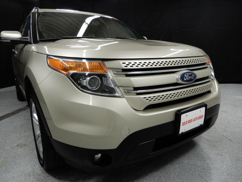 2011 FORD EXPLORER LIMITED for sale in Garrettsville, Ohio