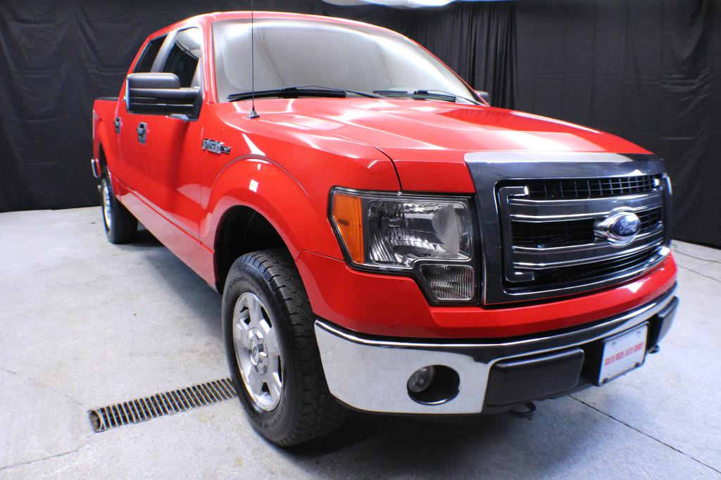 2013 FORD F150 for sale at Solid Rock Auto Group
