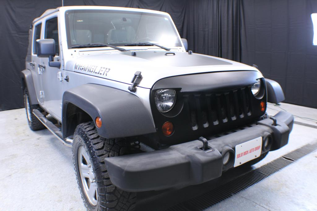 2010-JEEP-WRANGLER UNLIMI-SPORT-FOR-SALE-Garrettsville-Ohio for sale at Solid Rock Auto Group