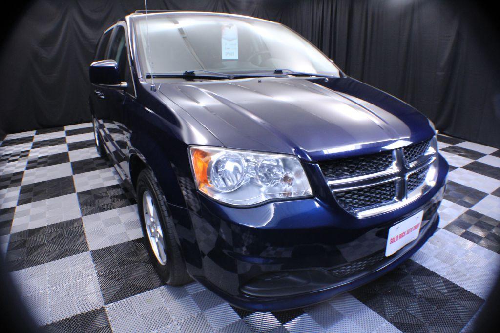 2012 DODGE GRAND CARAVAN SXT for sale at Solid Rock Auto Group