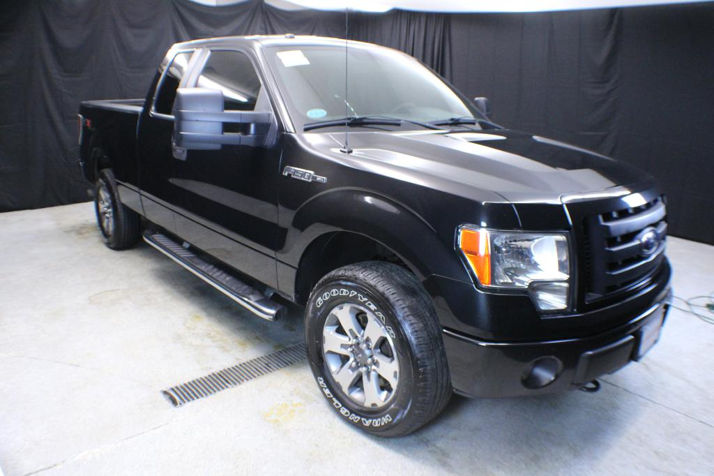 2012 FORD F150 SUPER CAB 4X4 for sale at Solid Rock Auto Group
