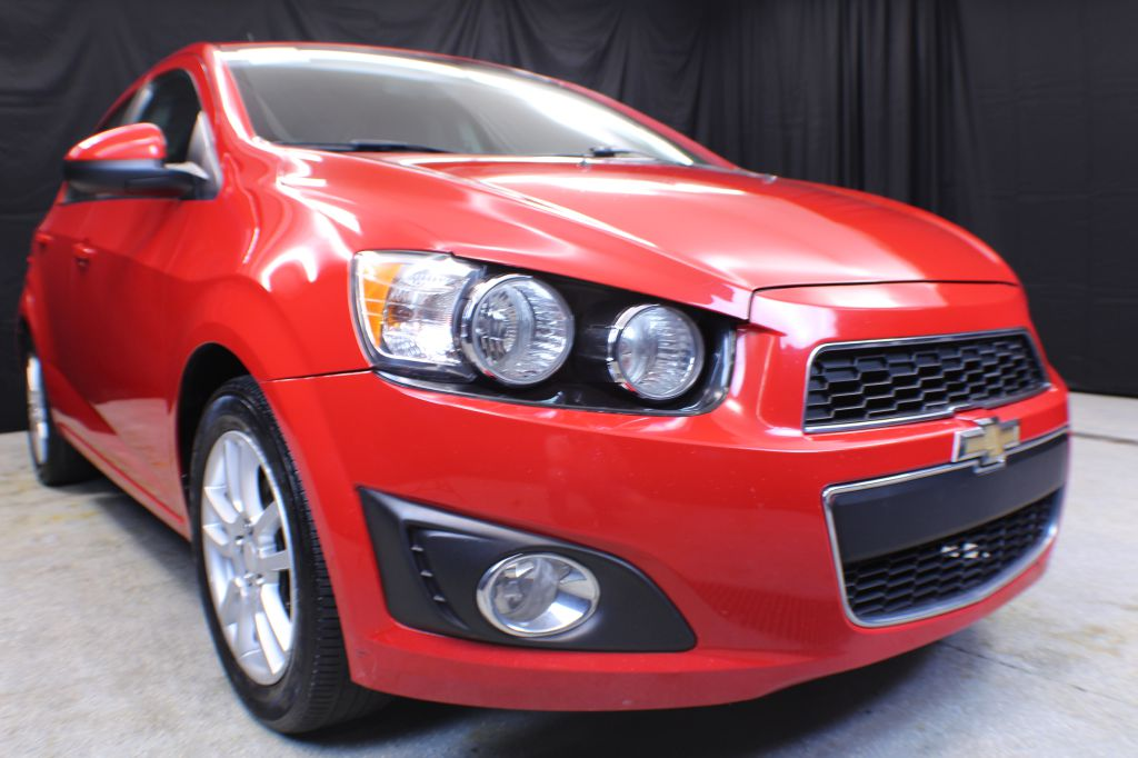 2013 CHEVROLET SONIC for sale at Solid Rock Auto Group