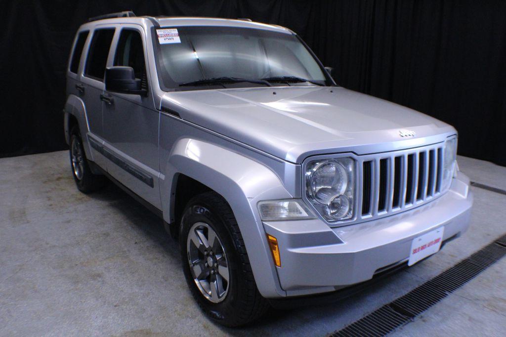 2008 JEEP LIBERTY SPORT for sale in Garrettsville, Ohio