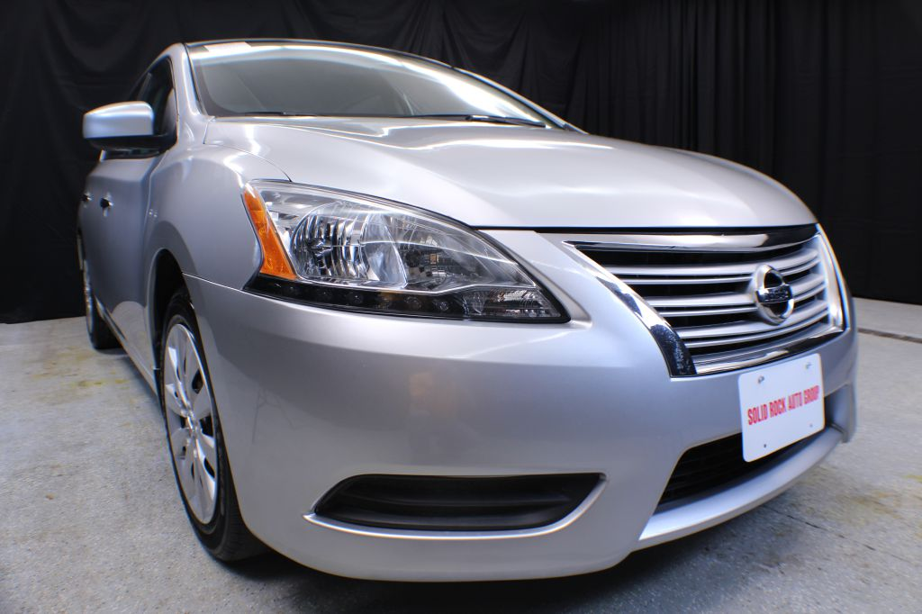 2014 NISSAN SENTRA for sale at Solid Rock Auto Group