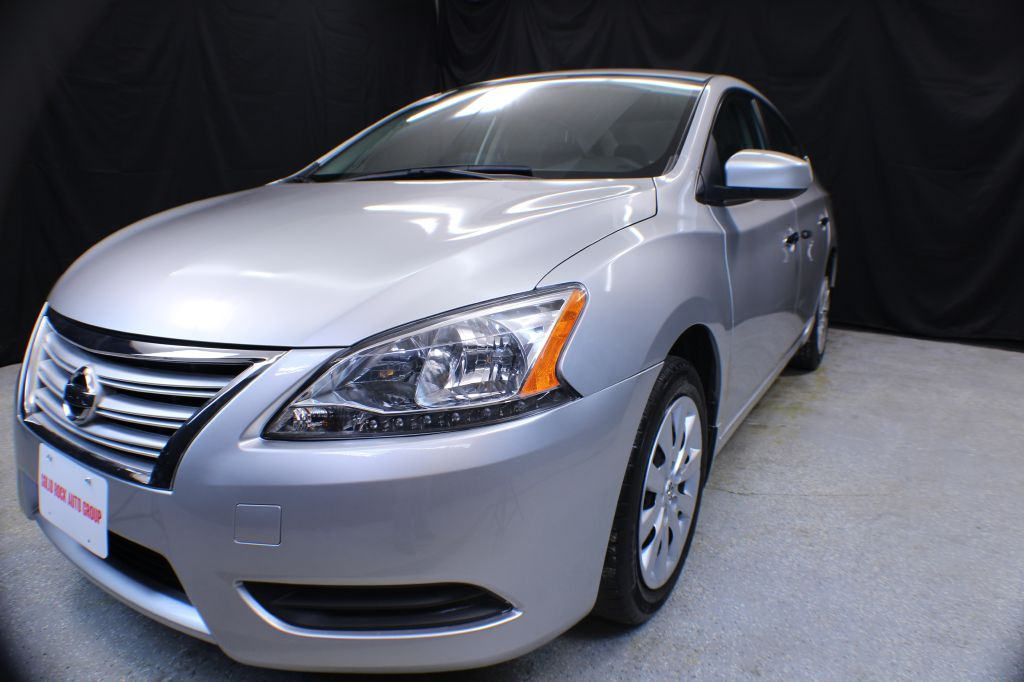 2014 NISSAN SENTRA SL for sale at Solid Rock Auto Group
