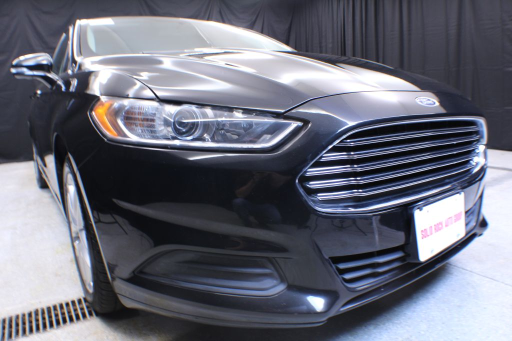 2013 FORD FUSION for sale at Solid Rock Auto Group