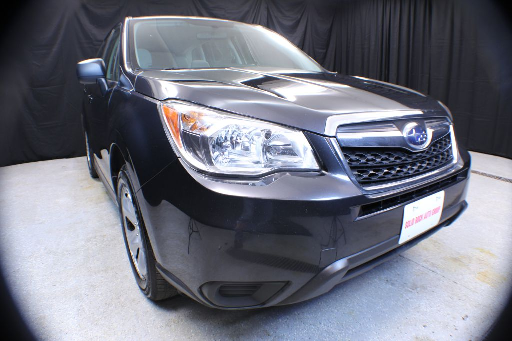 2016 SUBARU FORESTER for sale at Solid Rock Auto Group