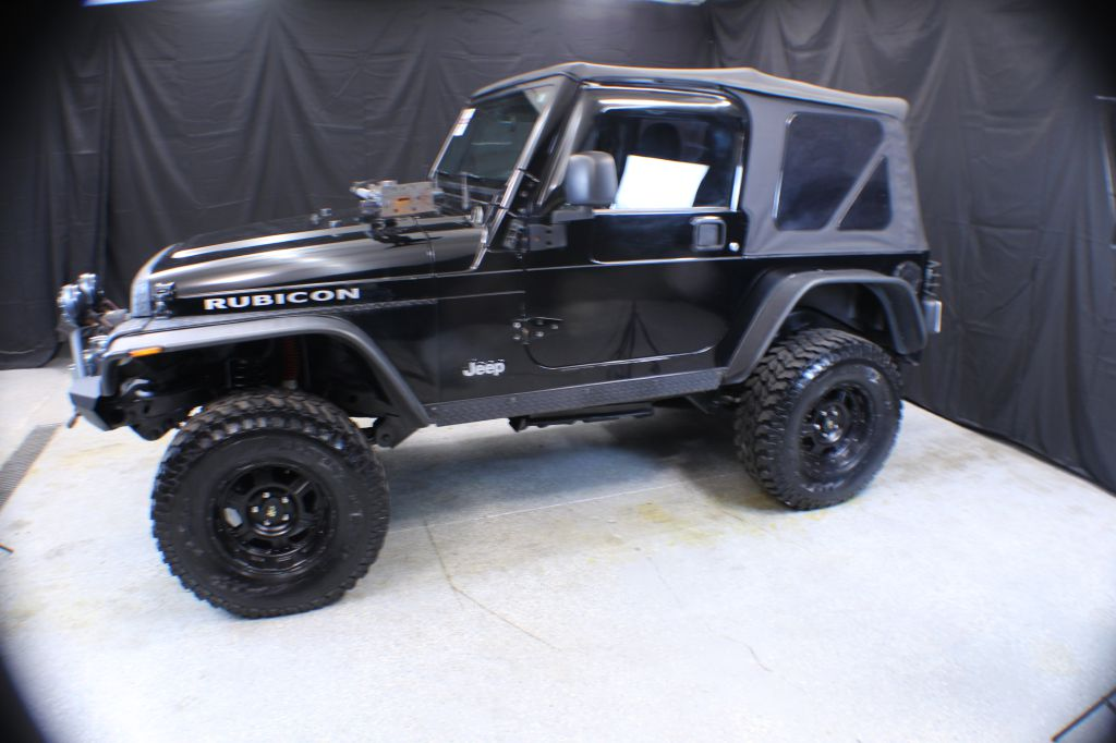 2003 JEEP WRANGLER / TJ RUBICON for sale at Solid Rock Auto Group
