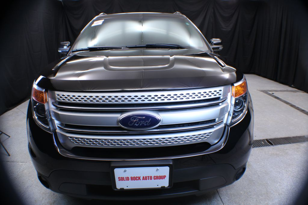 2014 FORD EXPLORER XLT for sale at Solid Rock Auto Group