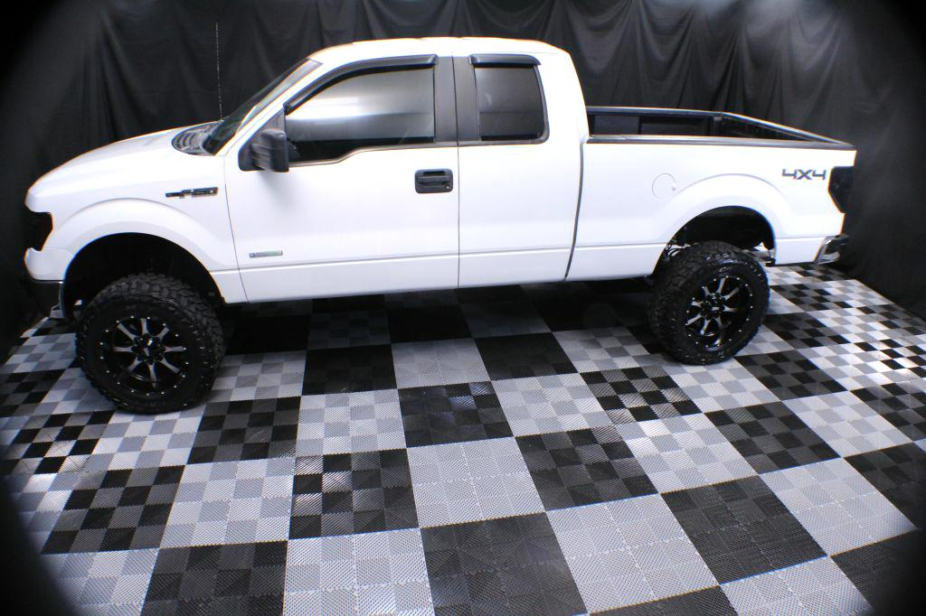 2013 FORD F150 SUPER CAB LIFTED for sale at Solid Rock Auto Group