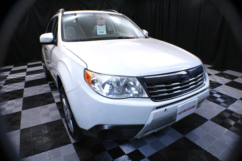 2010 SUBARU FORESTER for sale at Solid Rock Auto Group