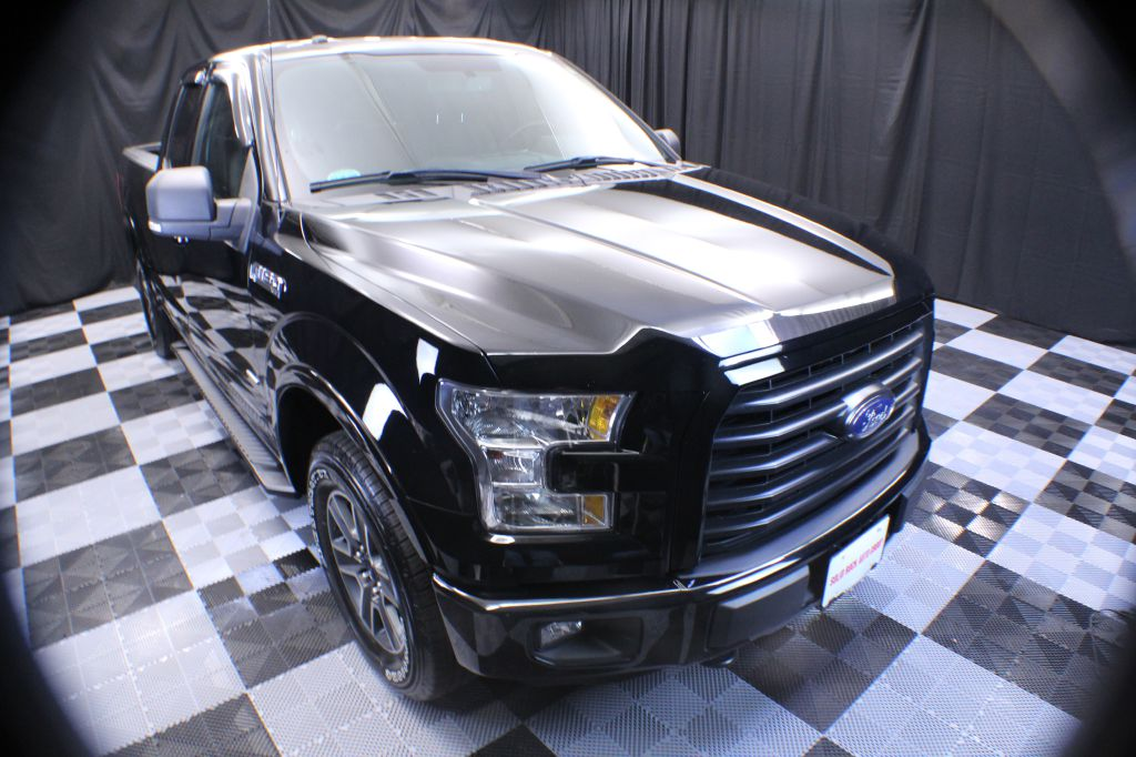 2016 FORD F150 SUPER CAB XLT for sale at Solid Rock Auto Group