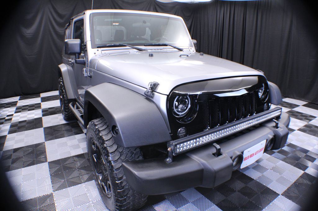 2014 JEEP WRANGLER for sale at Solid Rock Auto Group
