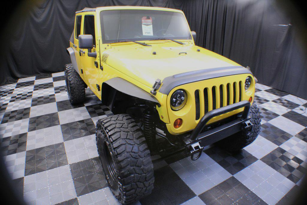 2008 JEEP WRANGLER UNLIMI for sale at Solid Rock Auto Group