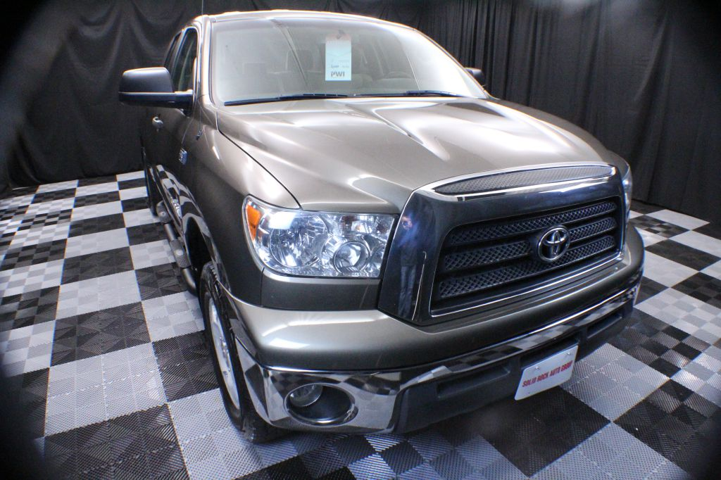 2008 TOYOTA TUNDRA DOUBLE CAB SR5 for sale at Solid Rock Auto Group