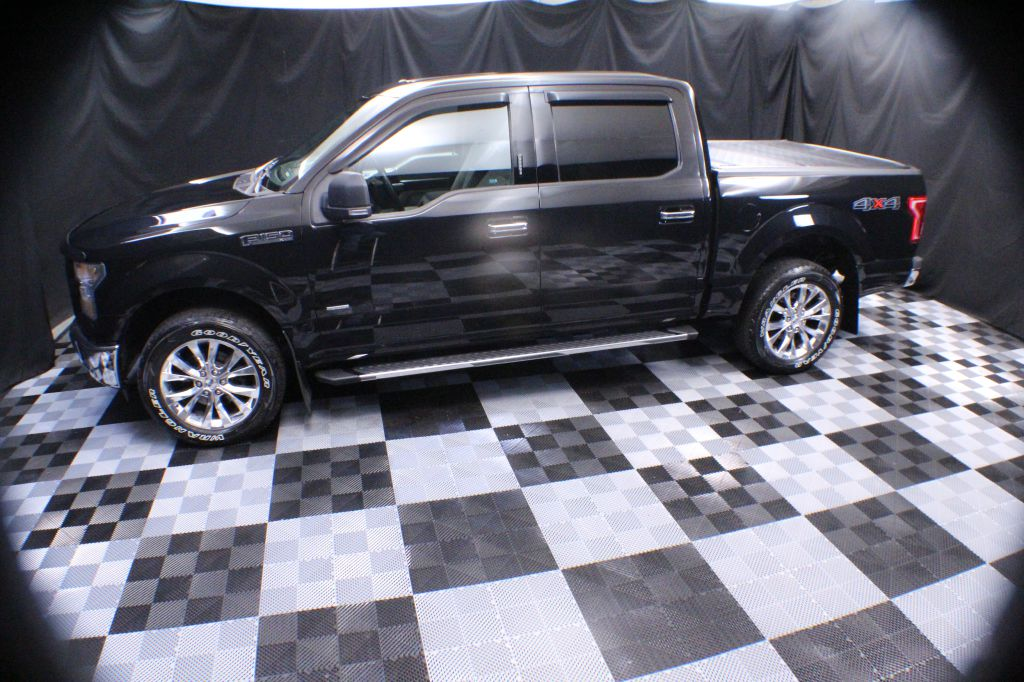 2015 FORD F150 SUPERCREW for sale at Solid Rock Auto Group