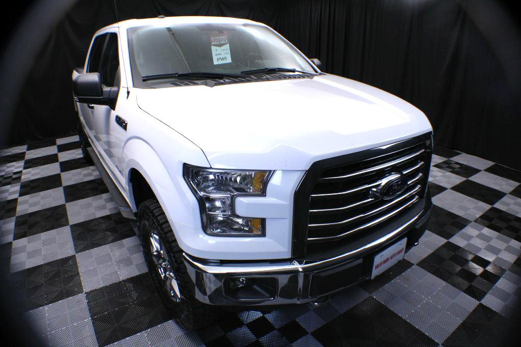 2016 FORD F150 SUPERCREW for sale at Solid Rock Auto Group