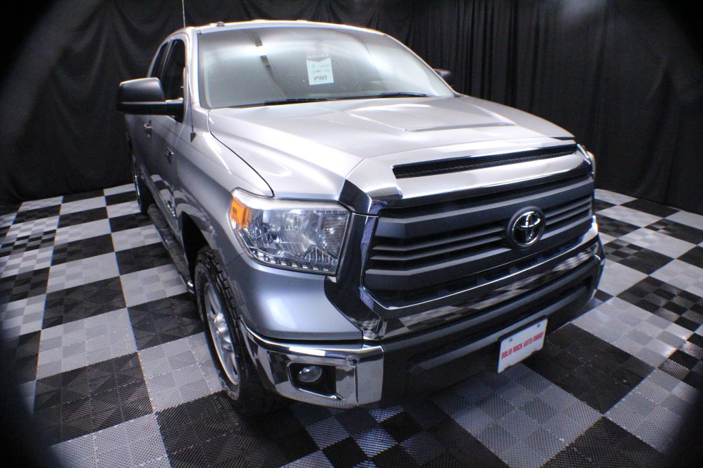 2014 TOYOTA TUNDRA DOUBLE CAB SR/SR5 for sale at Solid Rock Auto Group