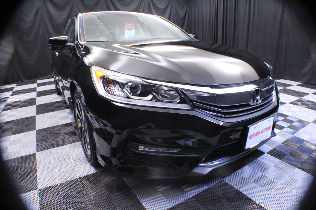 2017 HONDA ACCORD EXL for sale at Solid Rock Auto Group