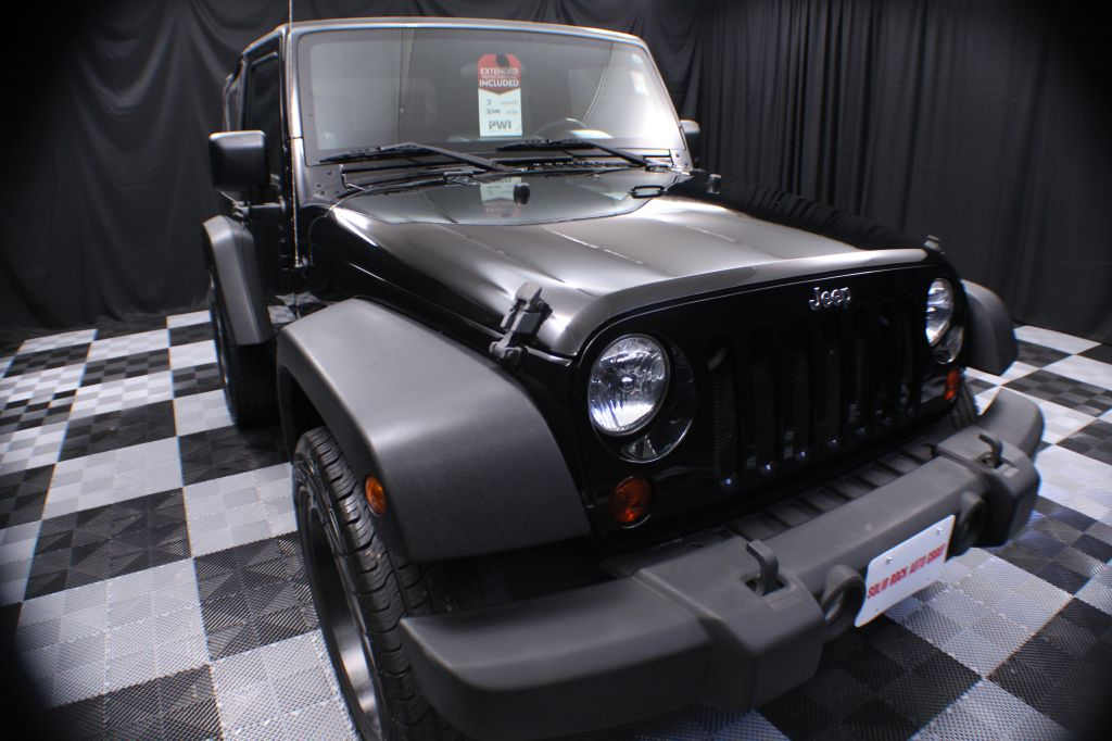 2009 JEEP WRANGLER for sale at Solid Rock Auto Group
