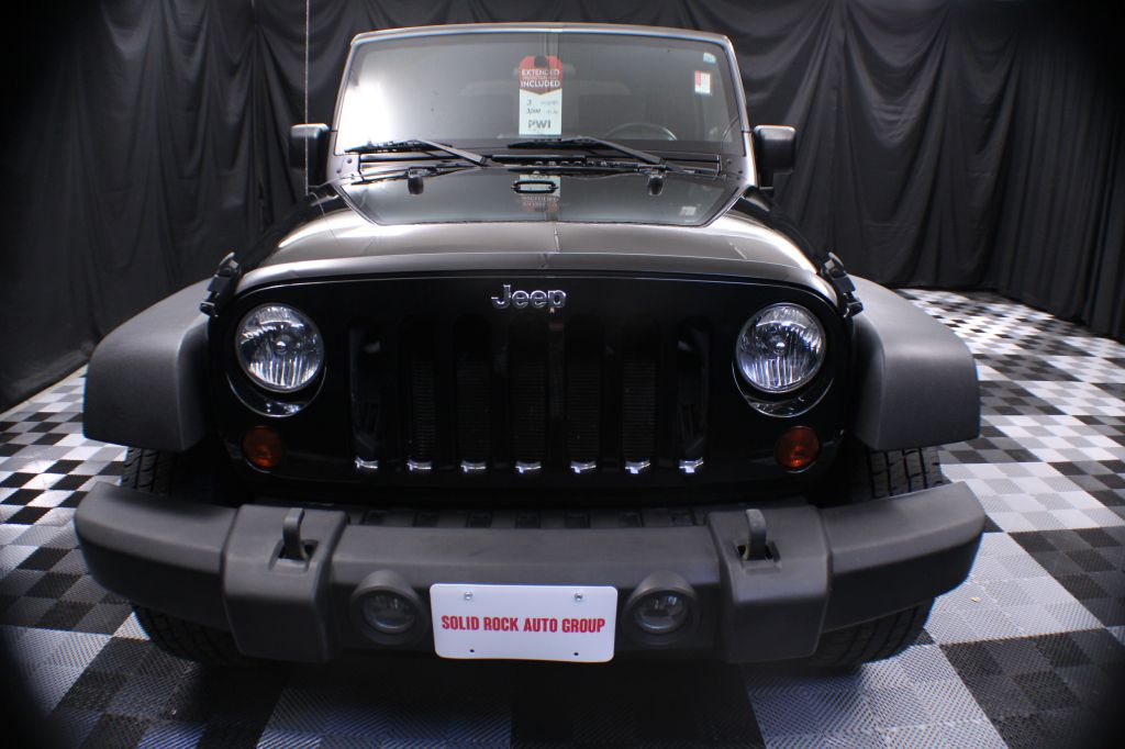 2009 JEEP WRANGLER X for sale at Solid Rock Auto Group