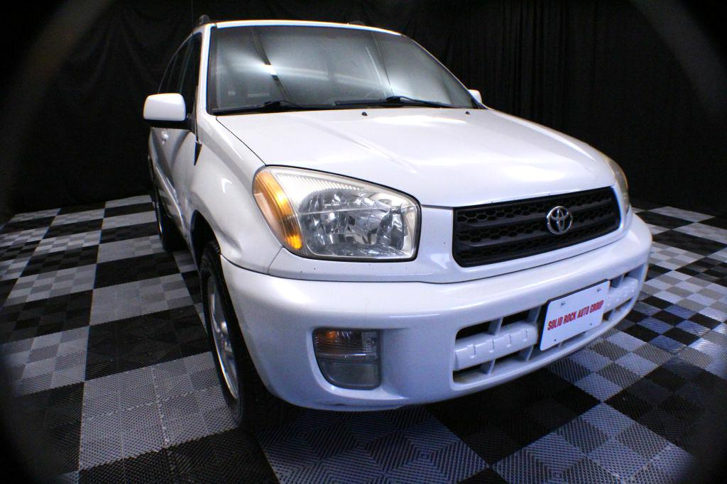 2003 TOYOTA RAV4 for sale at Solid Rock Auto Group