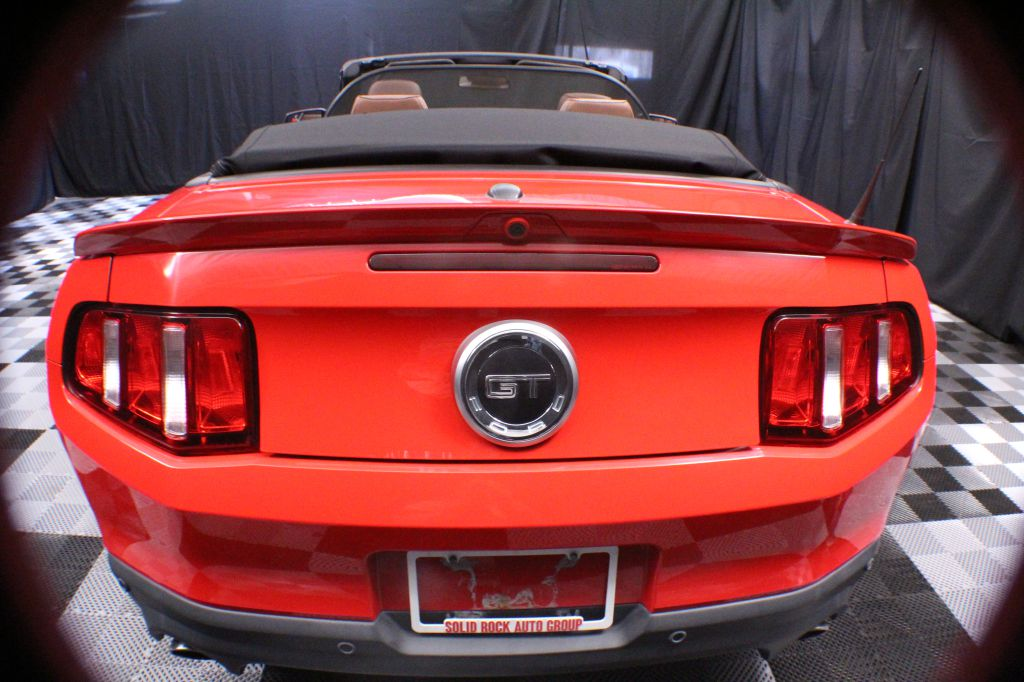 2012 FORD MUSTANG GT for sale at Solid Rock Auto Group