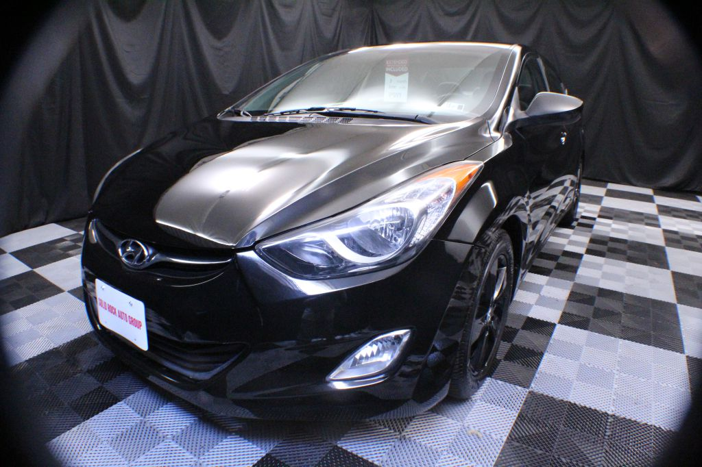 2013 HYUNDAI ELANTRA GLS for sale at Solid Rock Auto Group