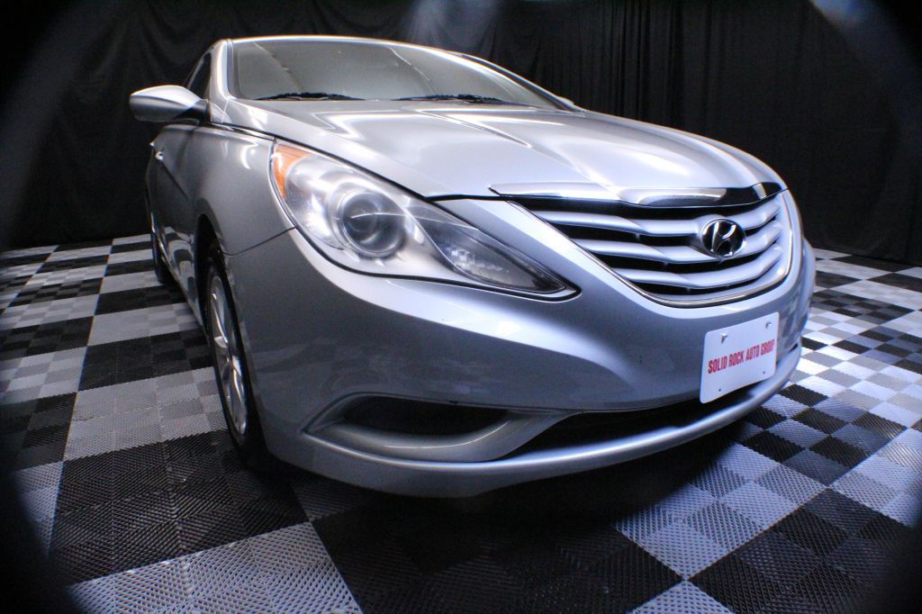 2013 HYUNDAI SONATA for sale at Solid Rock Auto Group