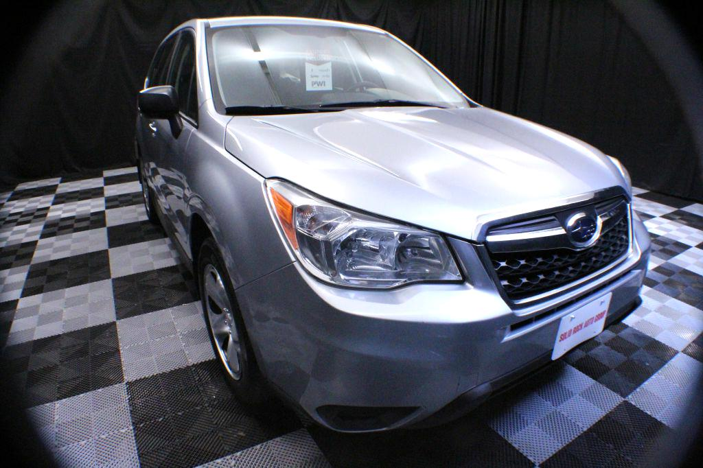2014 SUBARU FORESTER 2.5I for sale at Solid Rock Auto Group