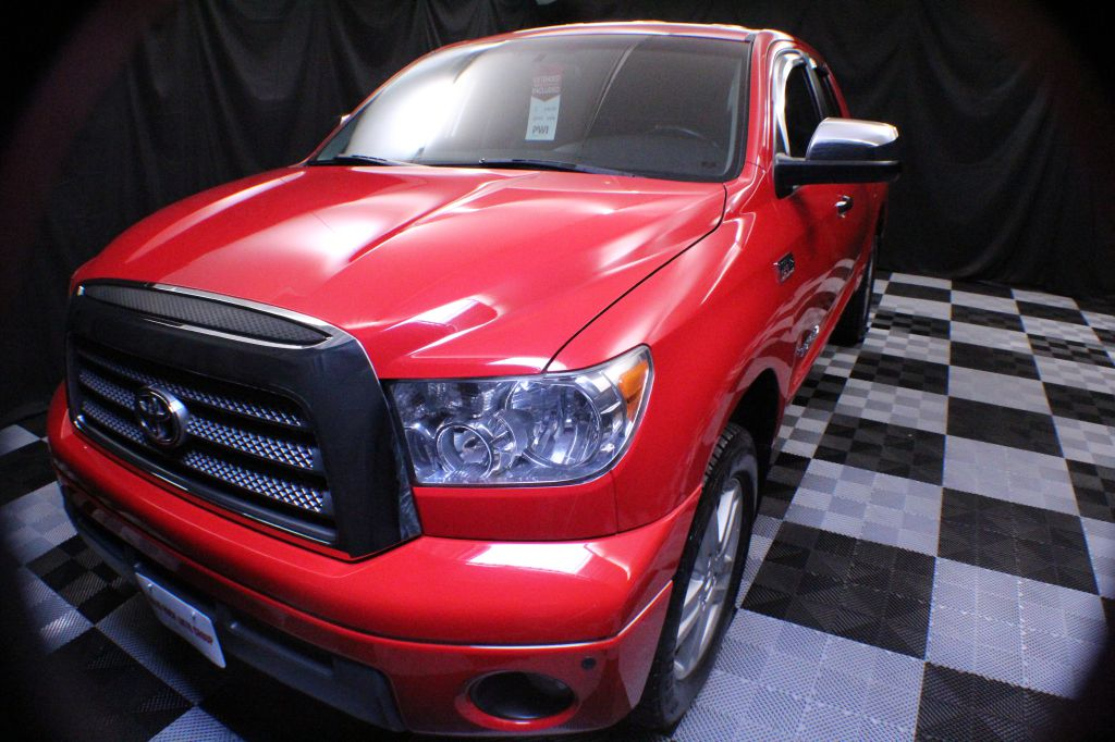 2008 TOYOTA TUNDRA DOUBLE CAB LIMITED for sale at Solid Rock Auto Group