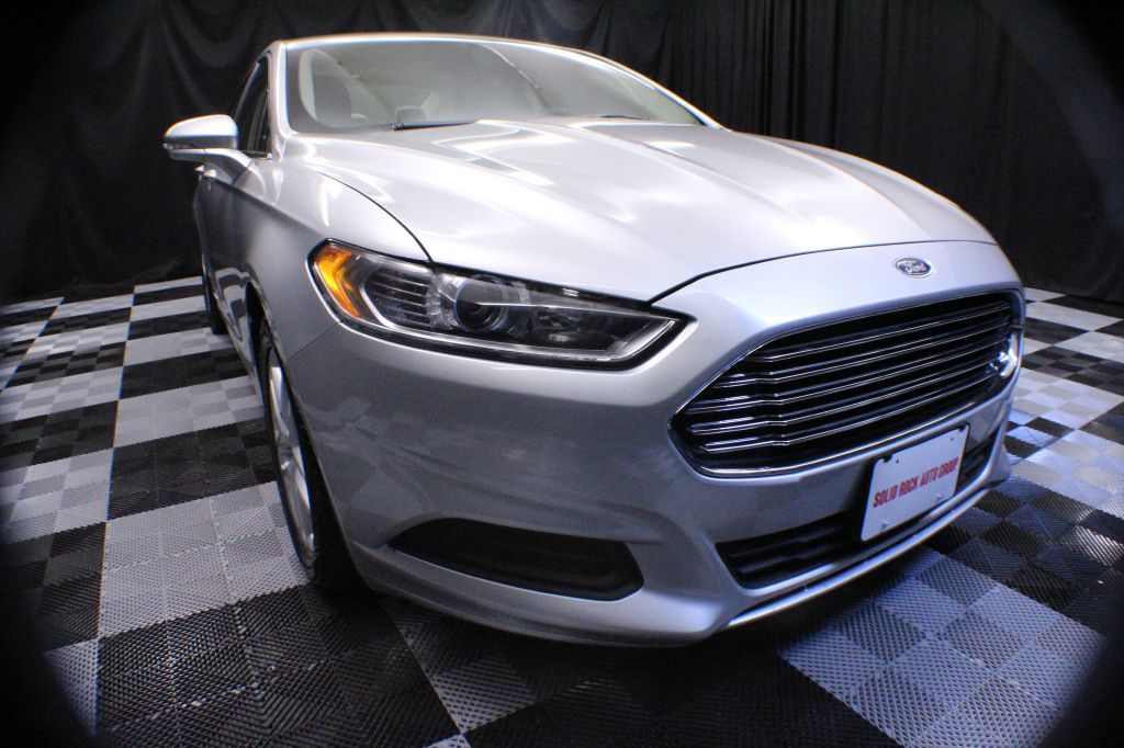 2015 FORD FUSION for sale at Solid Rock Auto Group