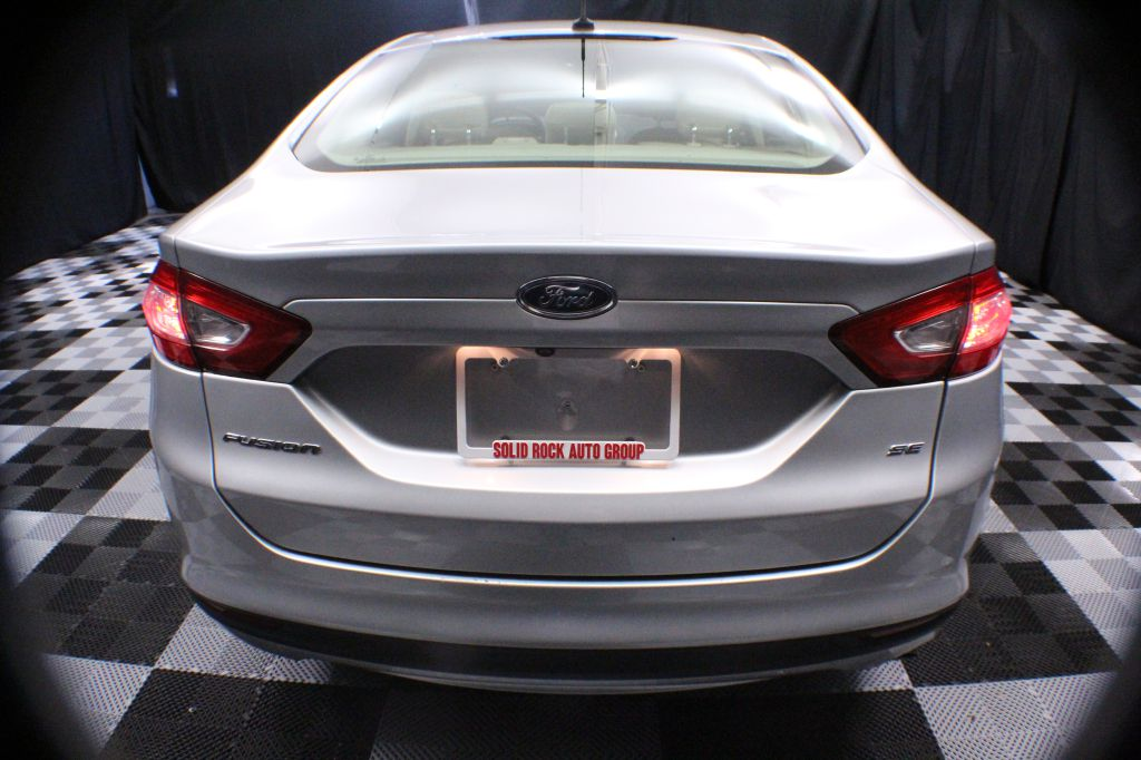 2015 FORD FUSION SE for sale at Solid Rock Auto Group