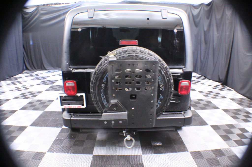 2004 JEEP WRANGLER X for sale at Solid Rock Auto Group
