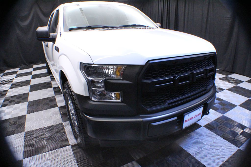 2017 FORD F150 for sale at Solid Rock Auto Group