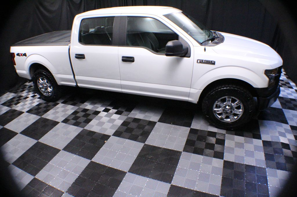 2017 FORD F150 SUPERCREW for sale at Solid Rock Auto Group