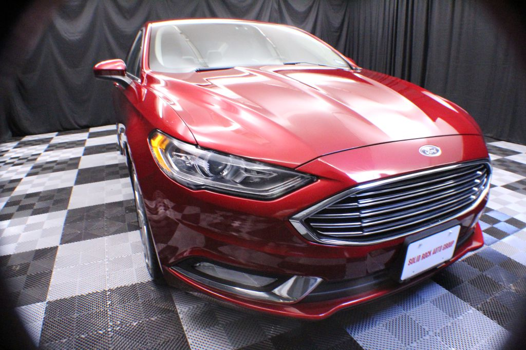 2017 FORD FUSION for sale at Solid Rock Auto Group