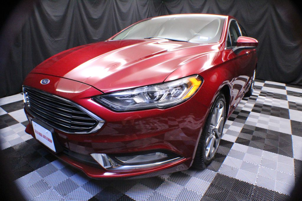 2017 FORD FUSION SE for sale at Solid Rock Auto Group