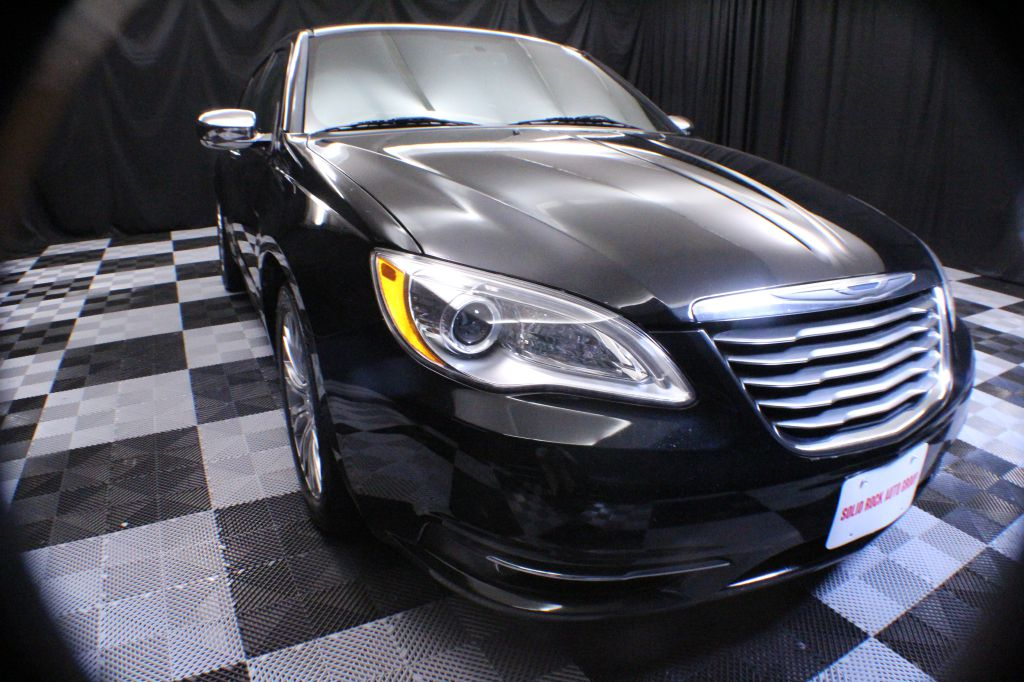 2013 CHRYSLER 200 for sale at Solid Rock Auto Group