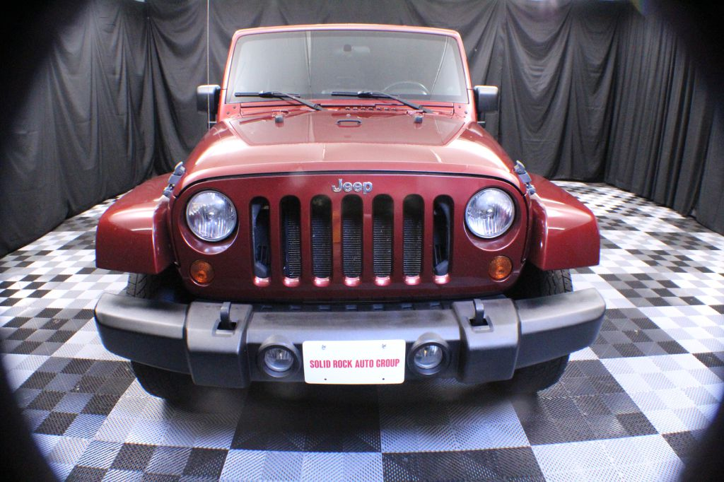 2007 JEEP WRANGLER SAHARA for sale at Solid Rock Auto Group
