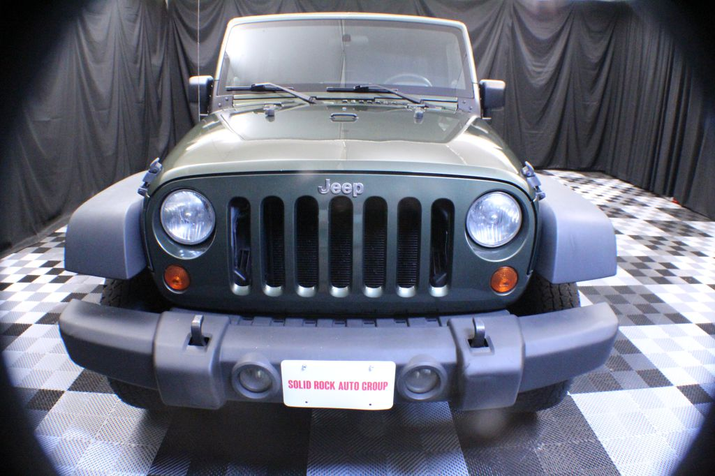 2007 JEEP WRANGLER RUBICON for sale at Solid Rock Auto Group