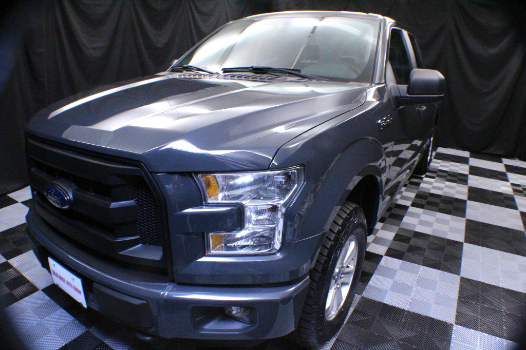 2016 FORD F150 SUPER CAB for sale at Solid Rock Auto Group